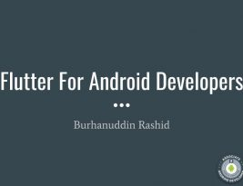 Flutter For Android Developers – Mad Meetup
