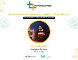 Enhance your skill and career using the power of Open source: DevSangamam Day 3